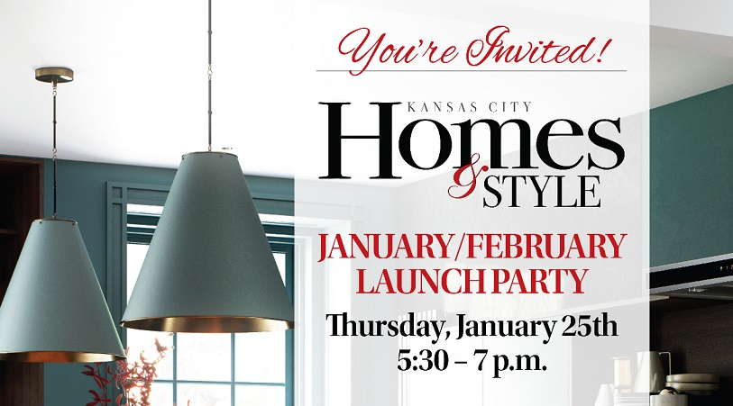 Kansas City Homes & Style Jan./Feb. Launch Party @ Briggs
