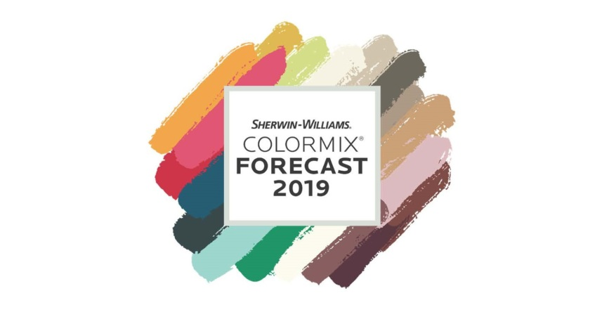 Sherwin-Williams COLORMIX FORECAST 2019